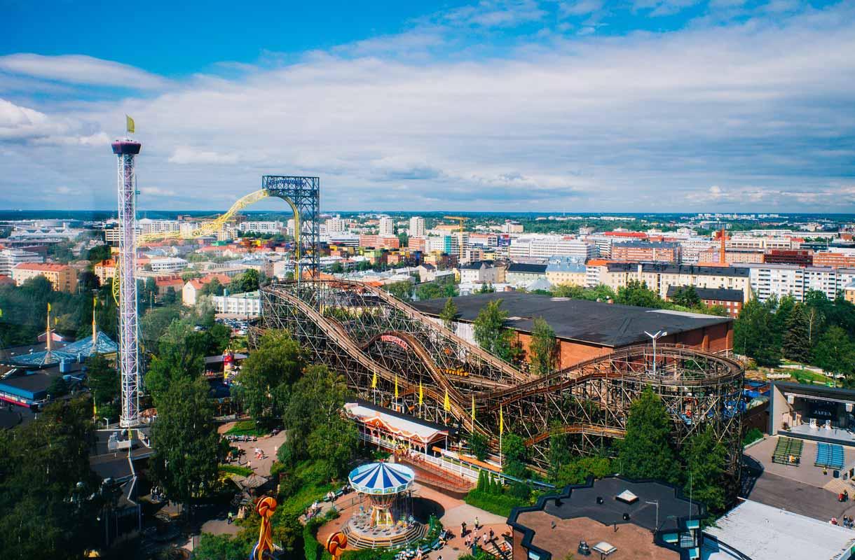 Linnanmäki on tärkeä osa Helsingin kaupunkikuvaa.