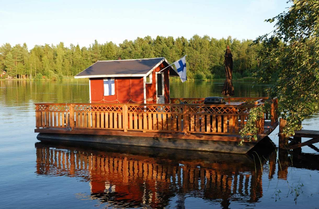 Luonto on yksi Suomen matkailun valttikorteista.