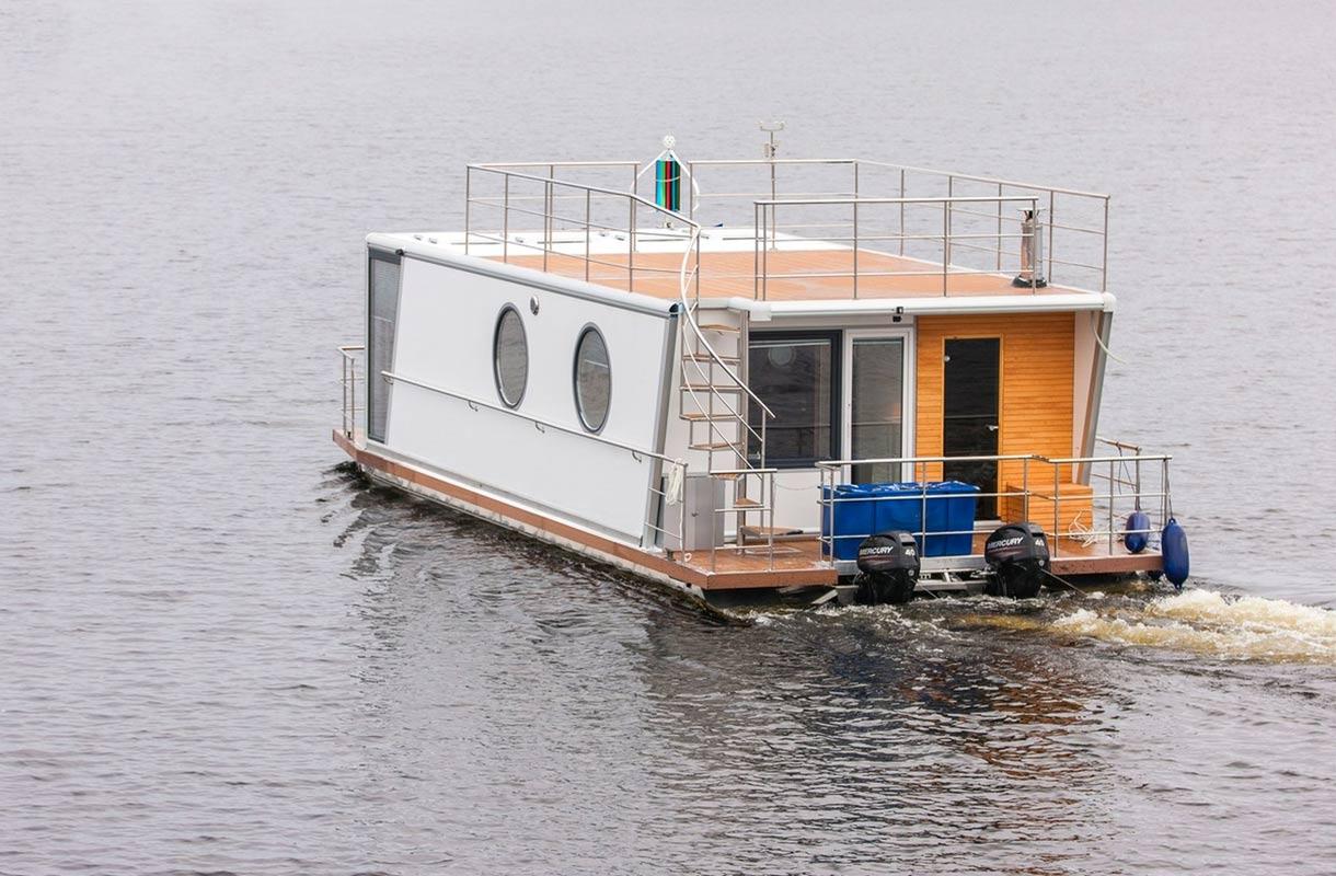 Asuntovene Myydään