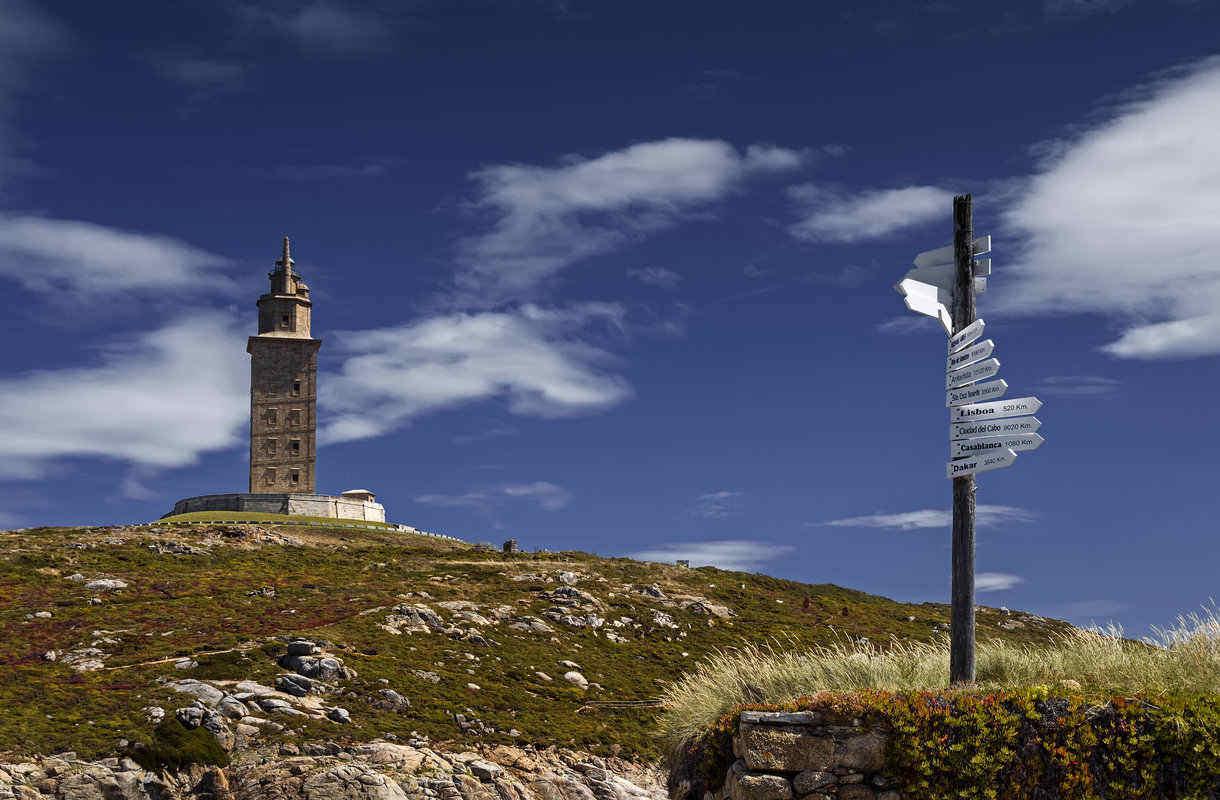Herkuleen torni Espanjan Galiciassa