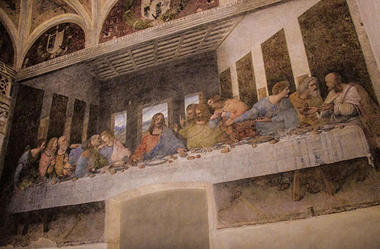 Da Vinci Viimeinen Ehtoollinen