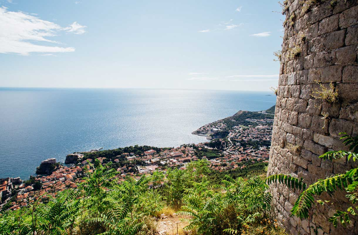 Dubrovnikin vanhankaupungin muuri