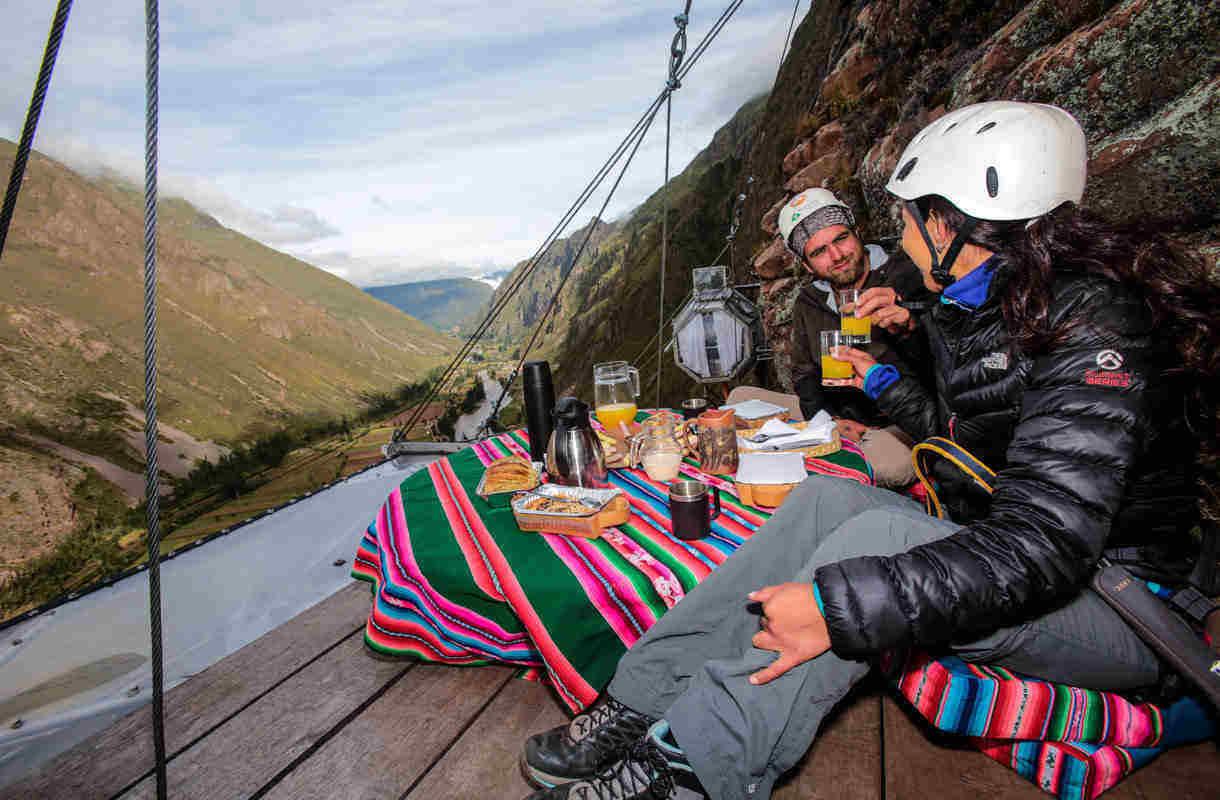 Kapselihotelli Perussa lähellä Cuscoa