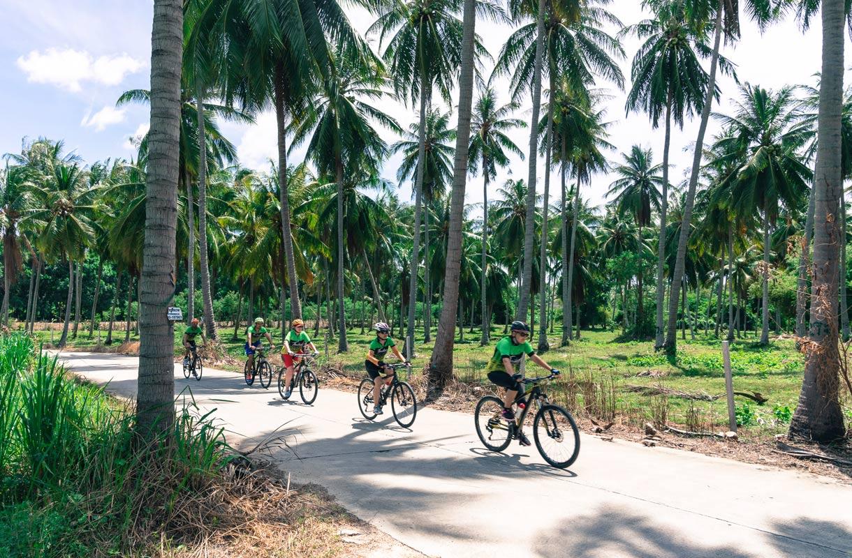 Pyöräily Thaimaassa