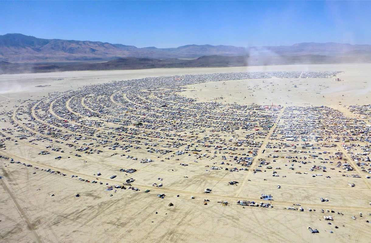 Lento Burning Man -festivaalille