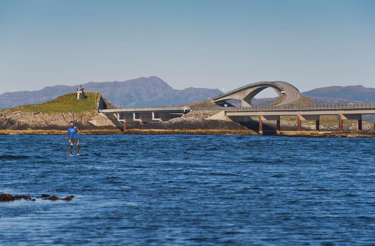 Atlantin väylä on Norjan upea siltareitti
