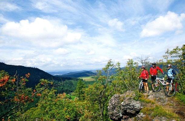 Pyöräilijät Saksassa