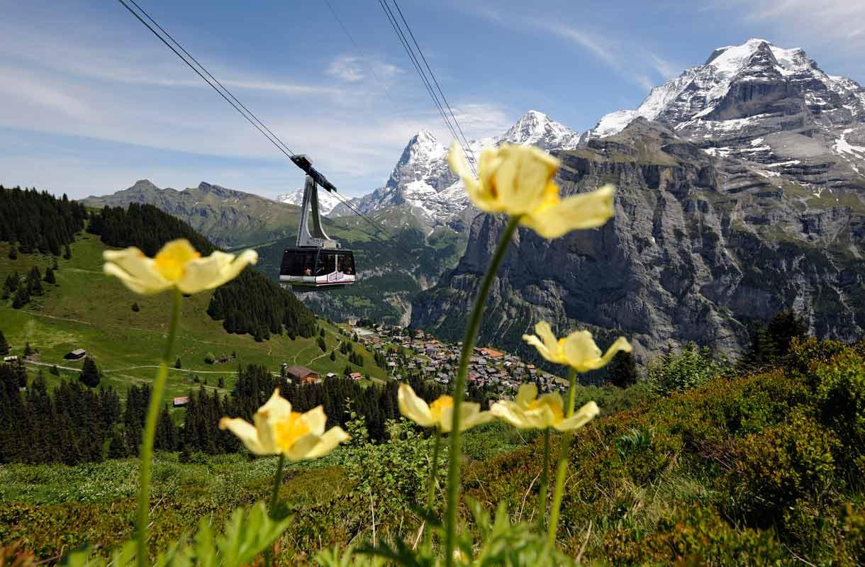 Sveitsi, Schilthorn