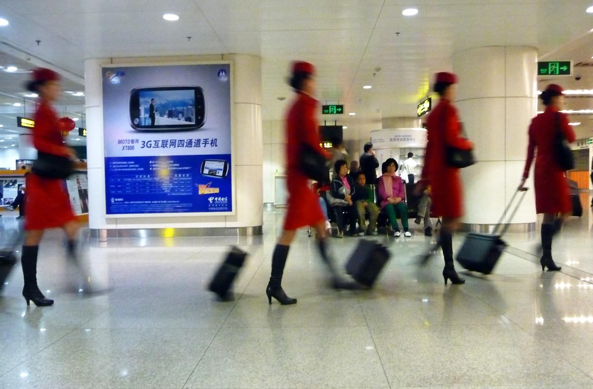 Kiinan sisäiset lennot