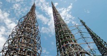 Los Angelesin Watts Towers