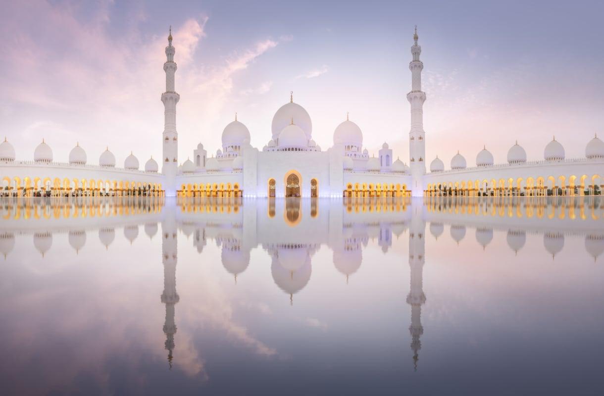Sheikki Zayedin moskeija, Abu Dhabi