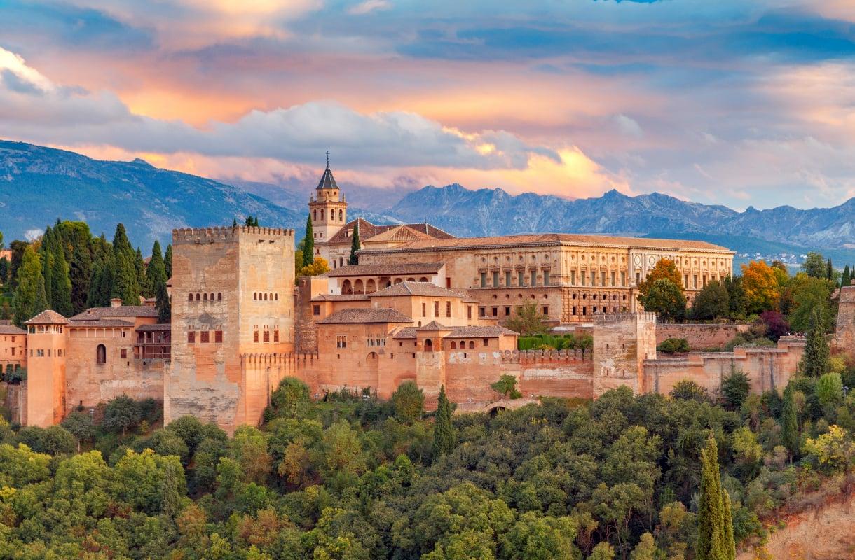 Alhambra, Espanja