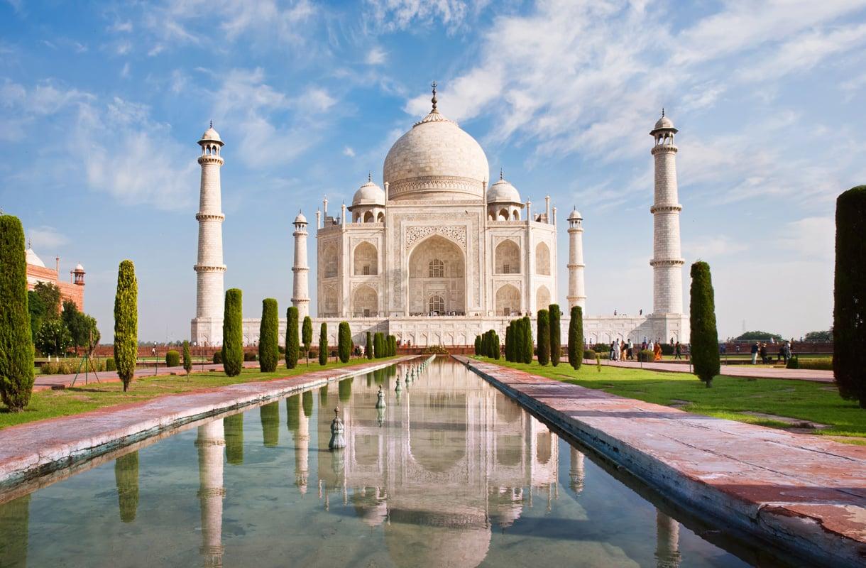Taj Mahal, Intia