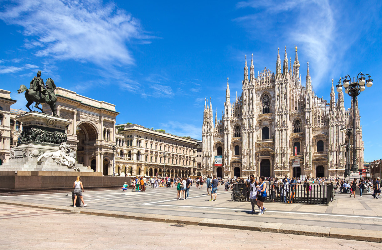Milanon Nähtävyydet