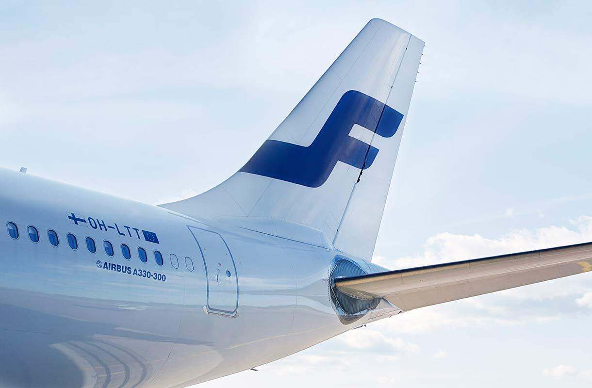 Finnairin asiakkaat voivat siirtää lentojaan lakon vuoksi