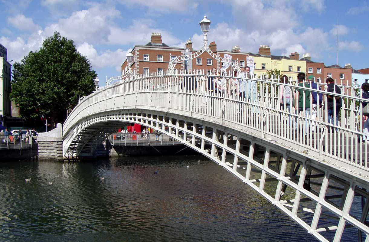 The Half Penny Bridge