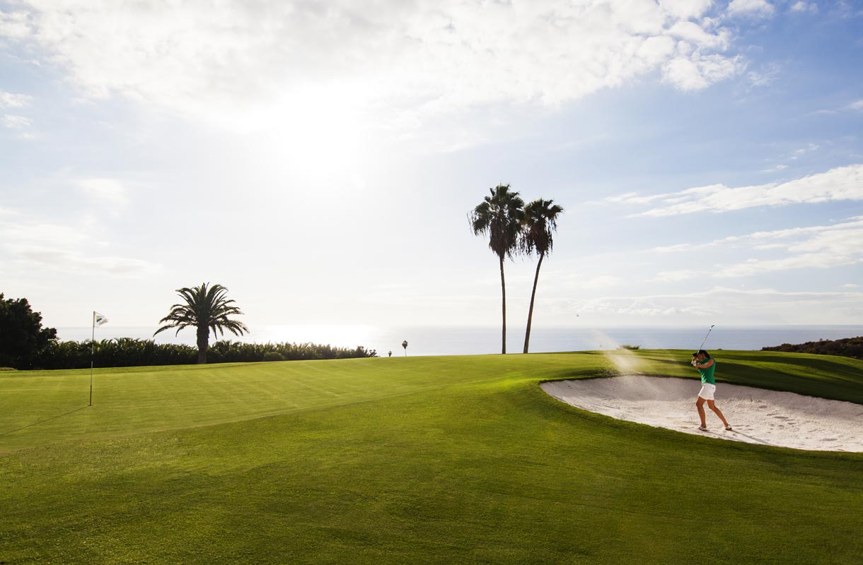 Golfkenttä Teneriffalla