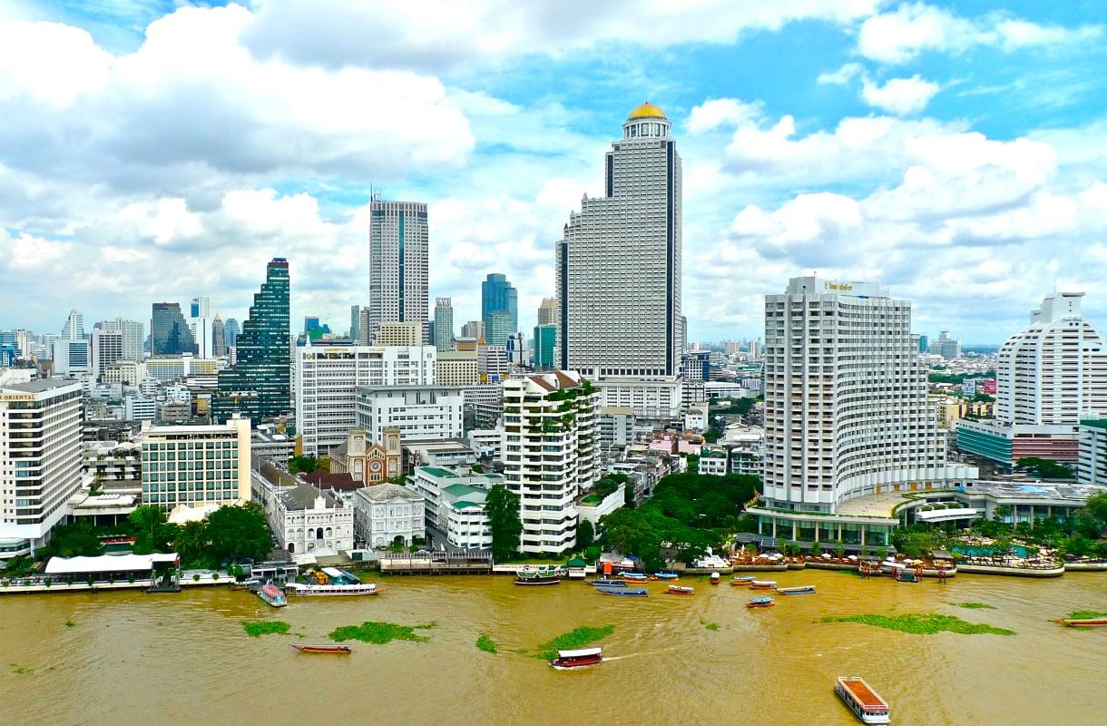 Jokimaisema Bangkokissa