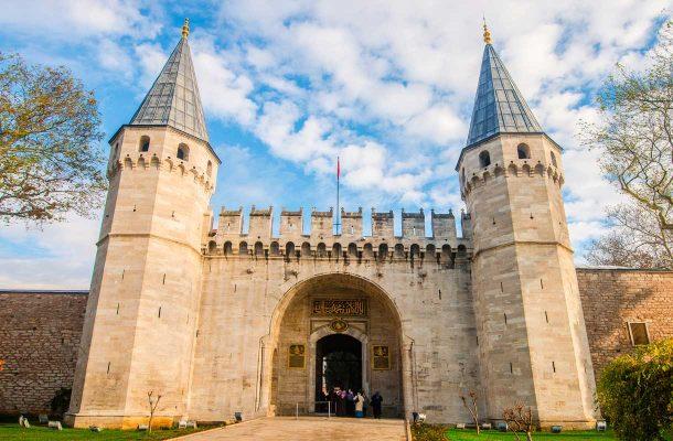 Topkapin palatsi Istanbulissa