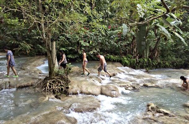 Vesiputoukset Jamaikalla