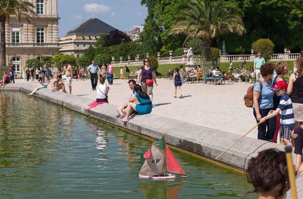 Luxembourgin puisto Pariisissa