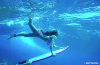 Surffausta Tahitilla