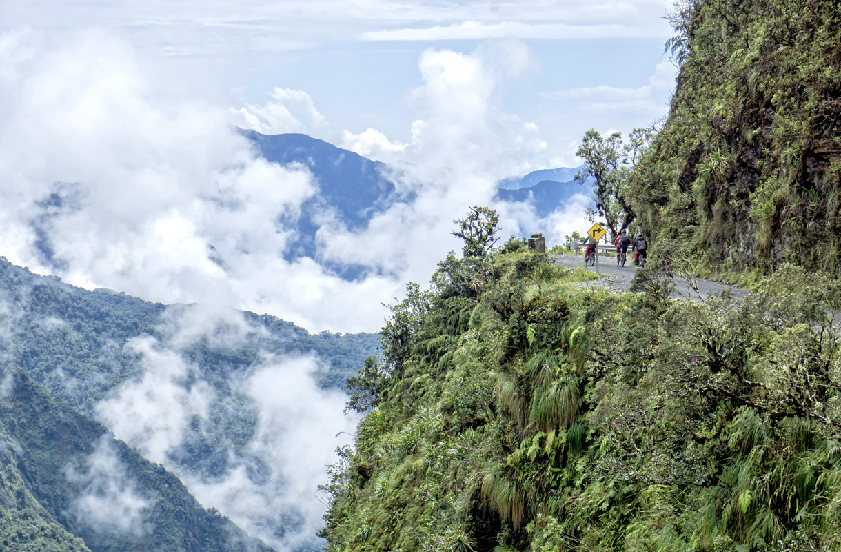 Kuoleman tie, Bolivia
