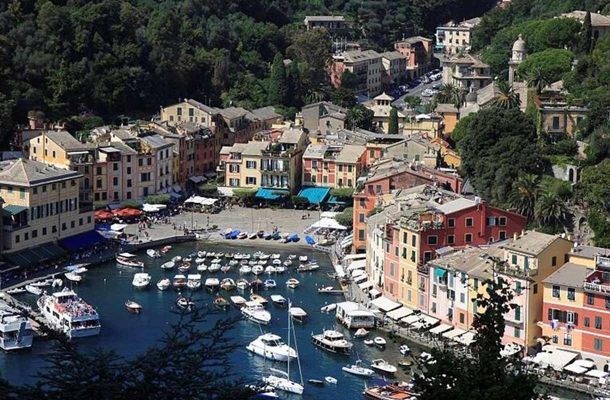 Ihana loma Italian kauniissa Portofinossa