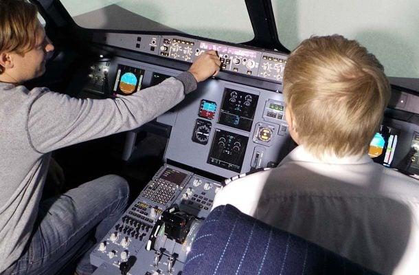 Takeoff-lentosimulaattori