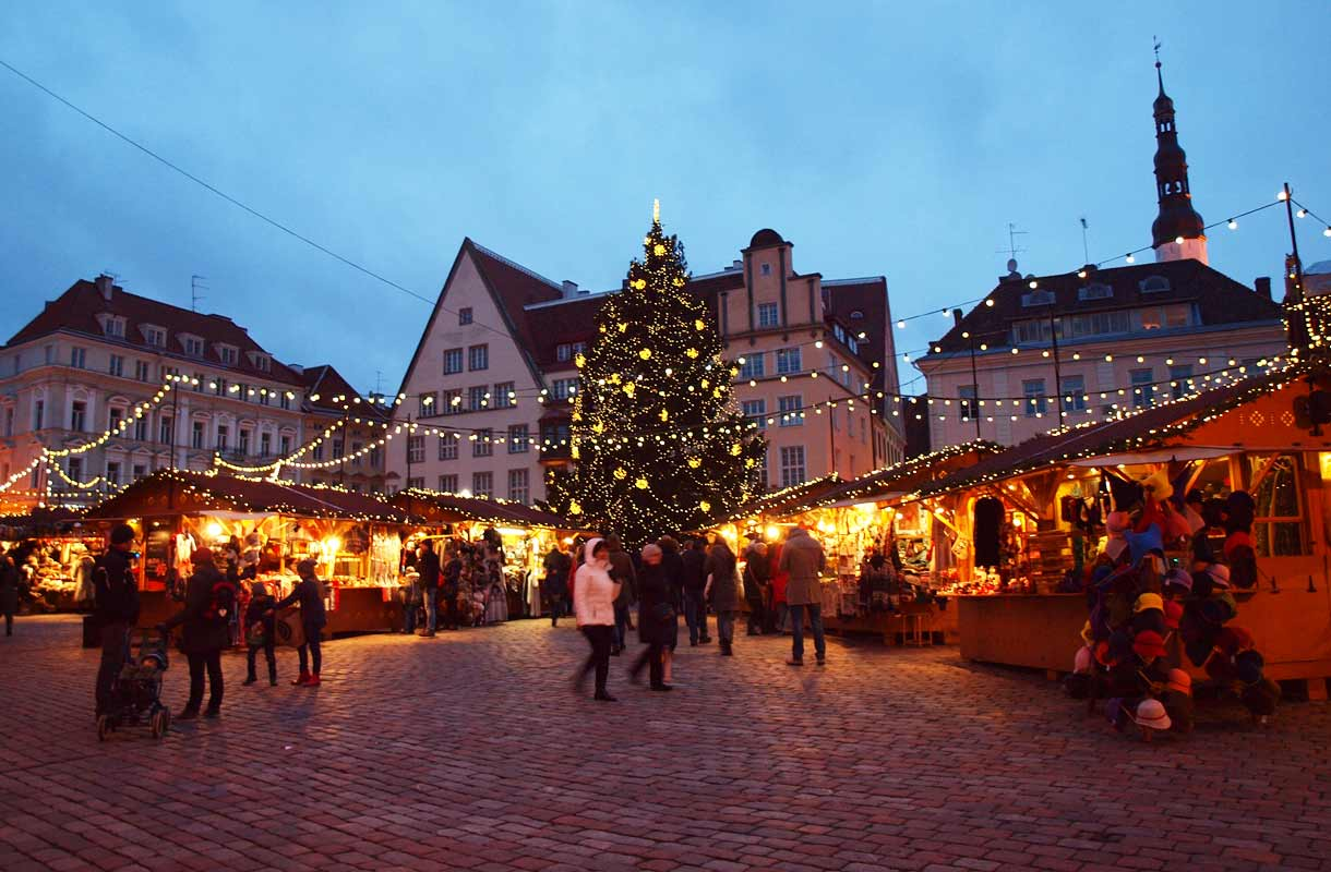 Tallinnan joulumarkkinat