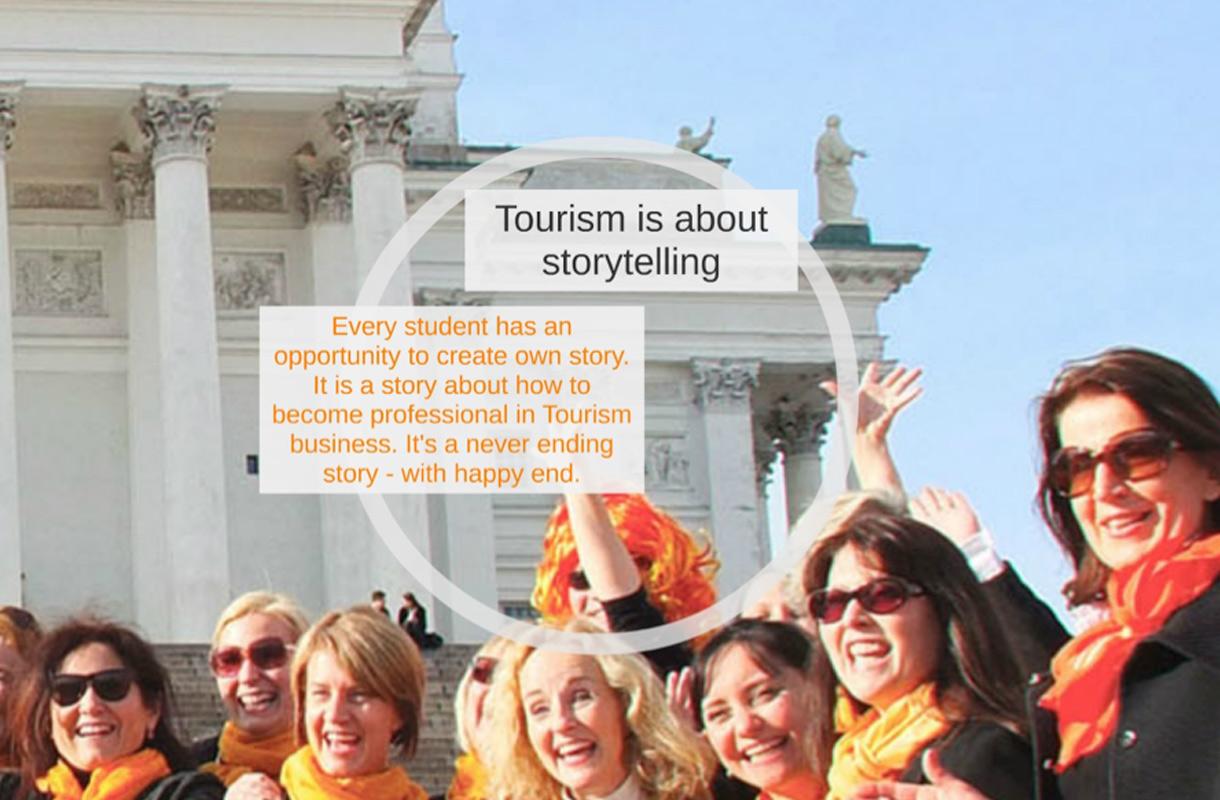 Matkailu on tarinankerrontaa