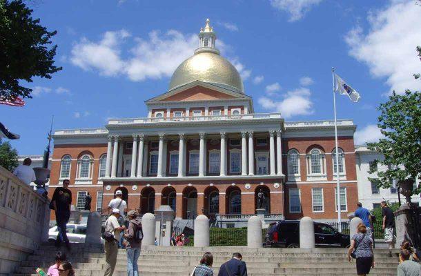 Hallintorakennus Bostonissa