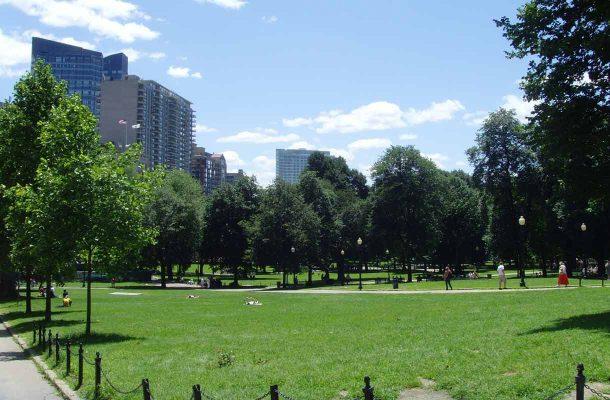 Puisto Bostonissa