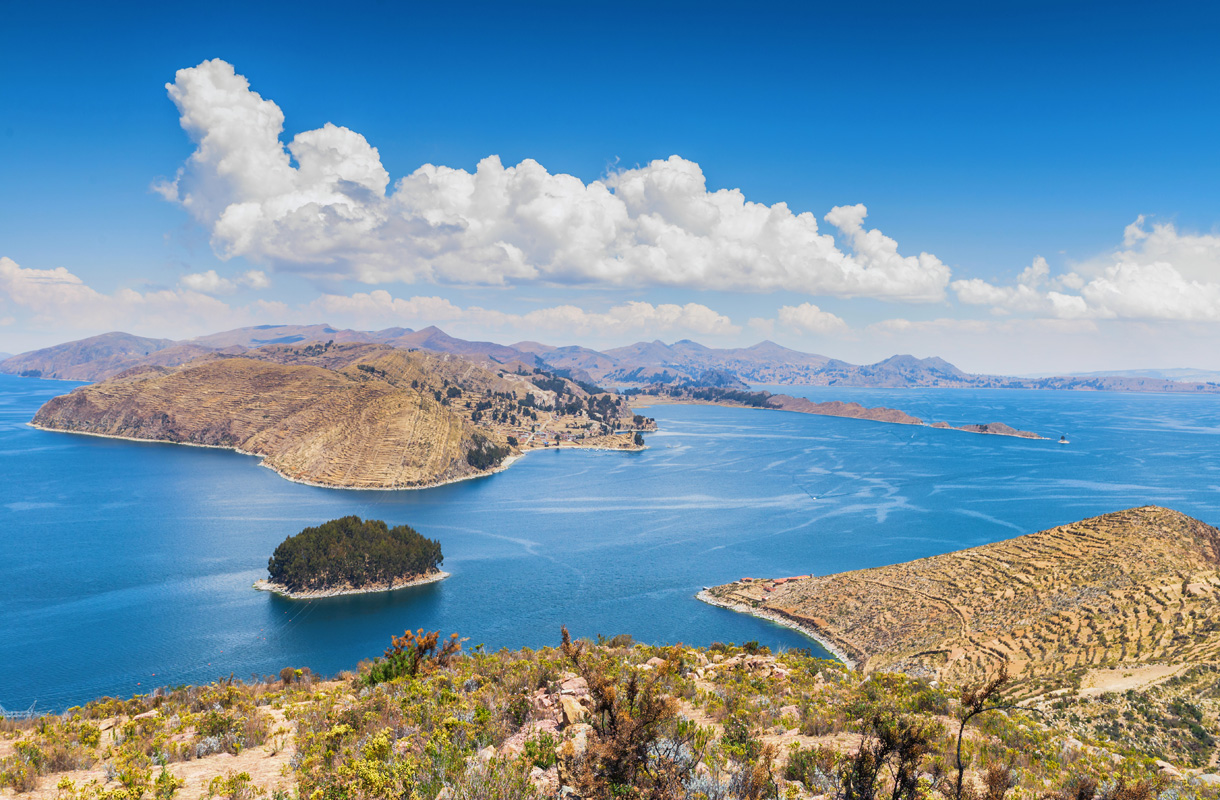 Titicaca-järvi, Bolivia