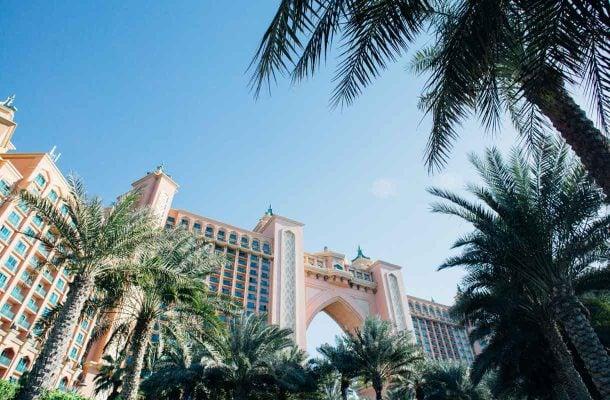 Atlantis-hotelli Dubaissa
