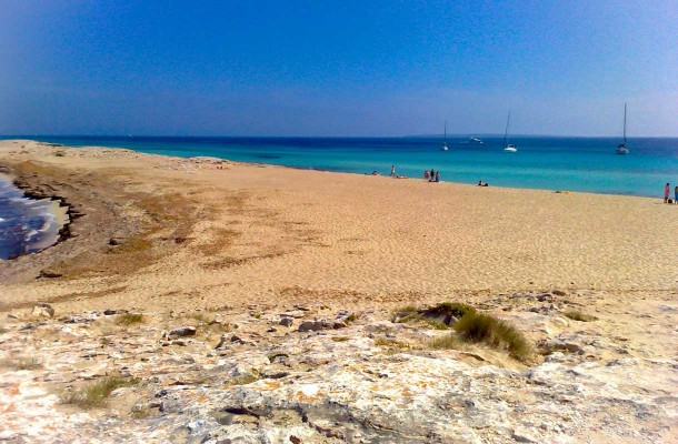 Formentera on pienin asuttu saari Baleaareilla