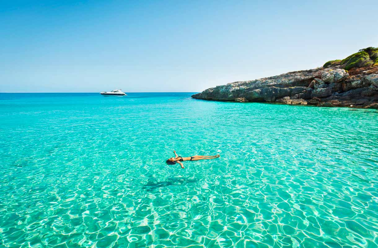 Baleaarien Menorca Espanjassa