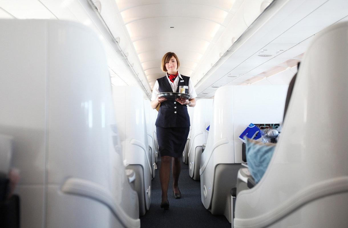 British Airwaysin lentoemäntä