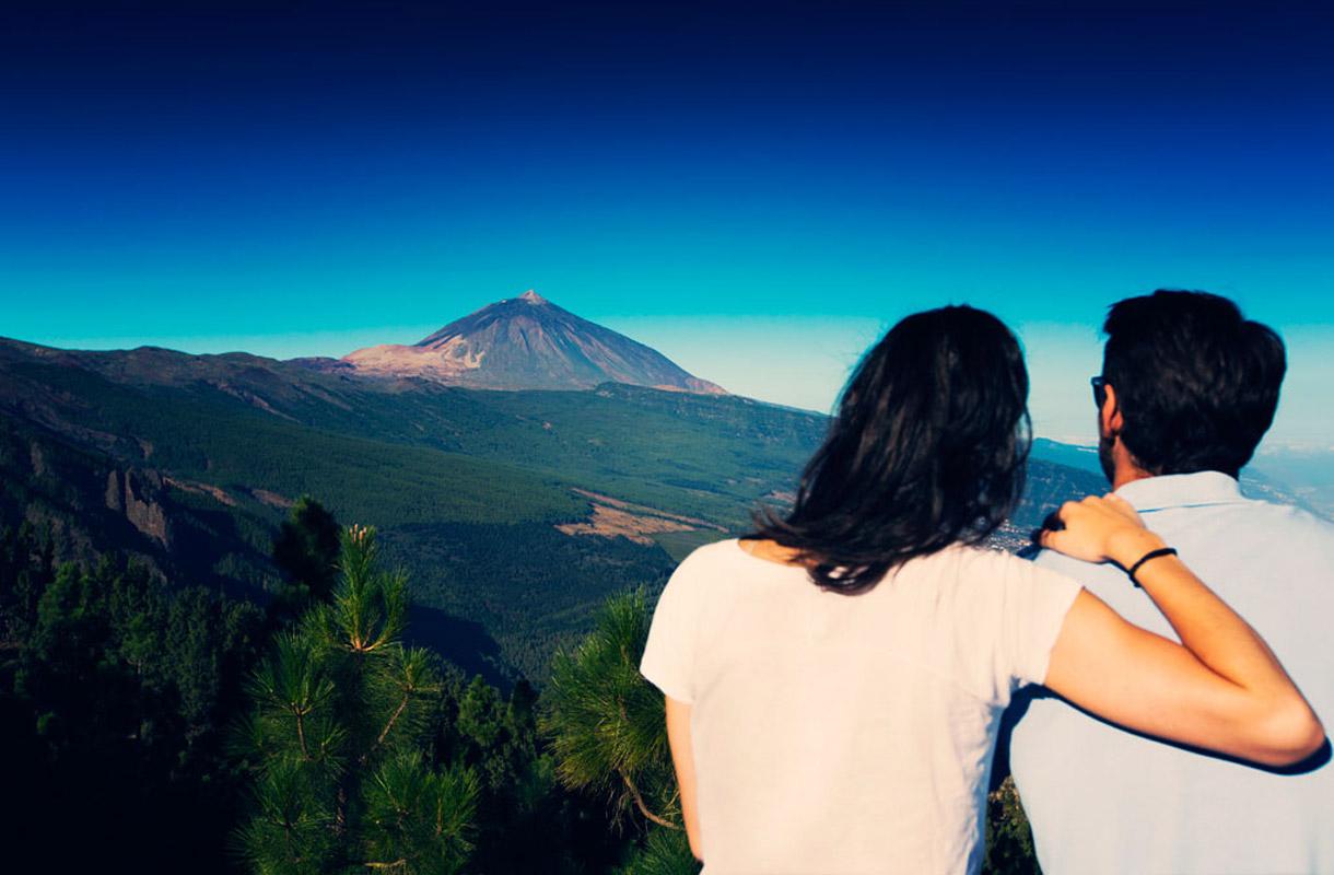 Pariskunta Teidellä