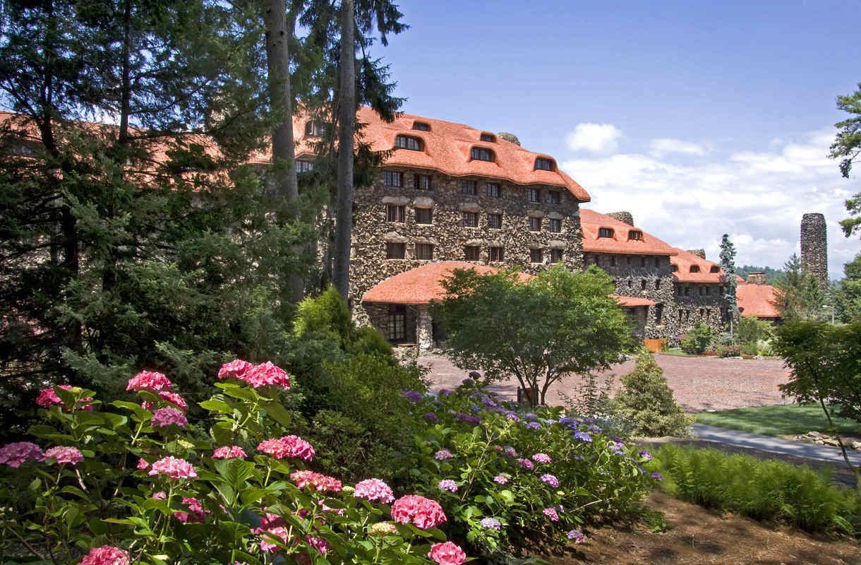 Hotelli Omni Grove Park Inn Pohjois-Carolinan Ashevillessä