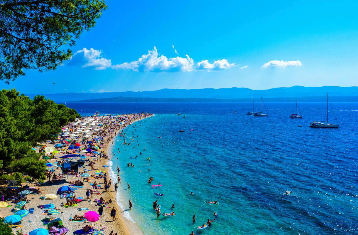 Bracin saari Kroatiassa