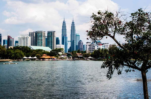 Maisema Kuala Lumpurissa