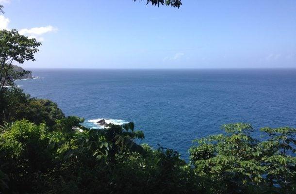 Näkymä Atlantin valtamerelle