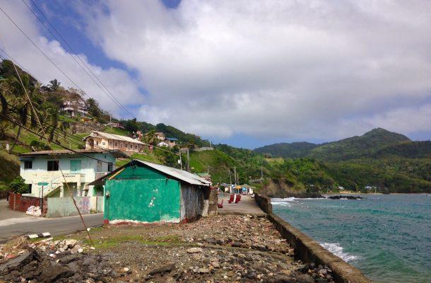 Pieni kylä Tobagossa
