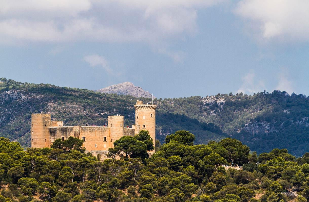 Bellverin linna Mallorcalla