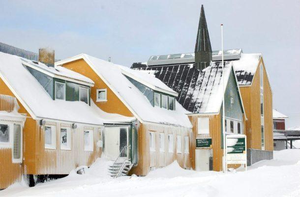 Nuukin taidegalleria Grönlannissa