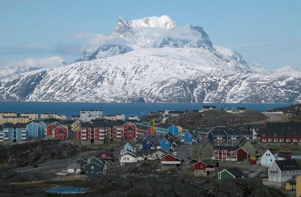 Nuuk oon Grönlannin pääkaupunki