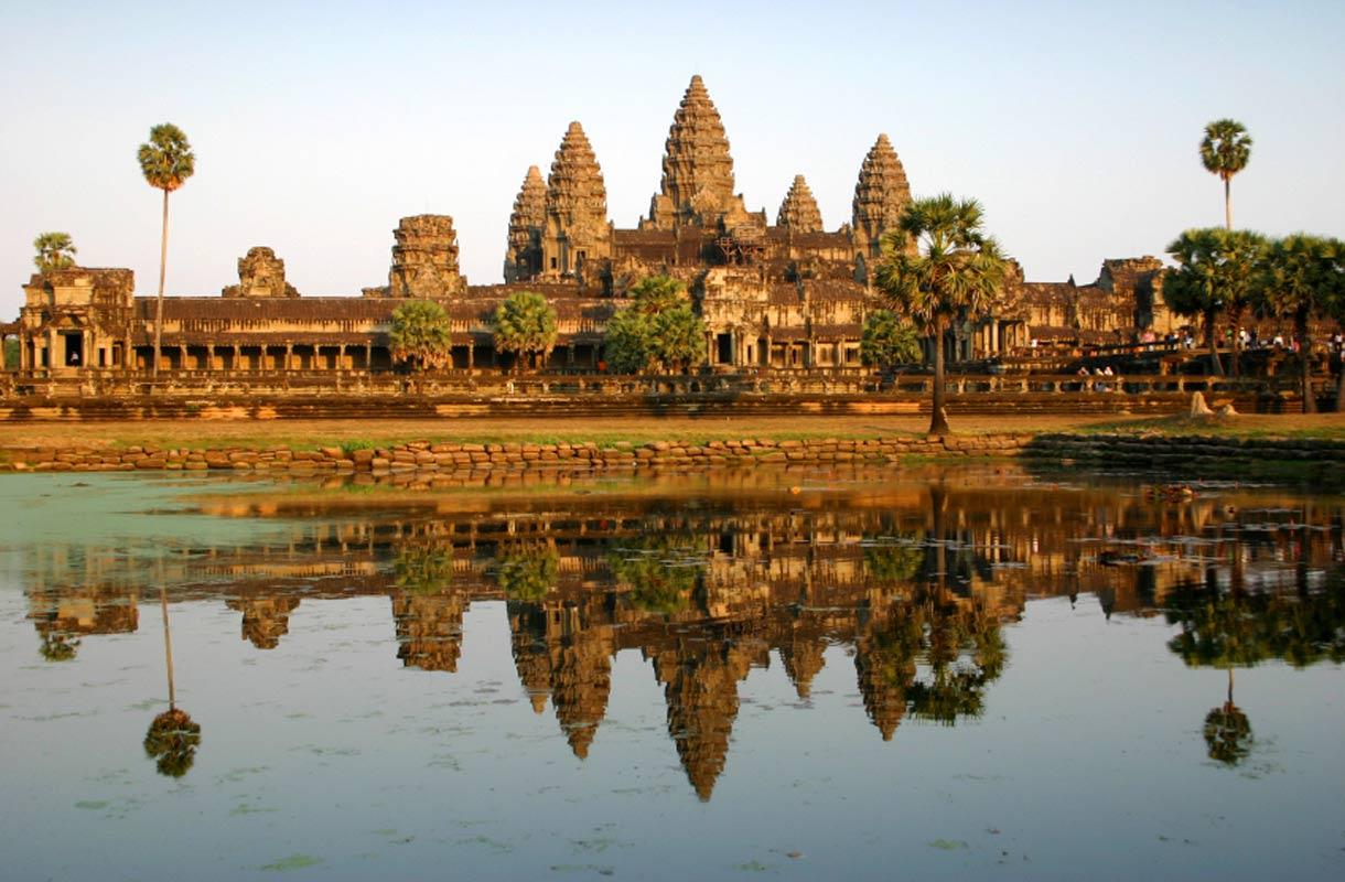 Angkor Watin temppeli Kambodzassa