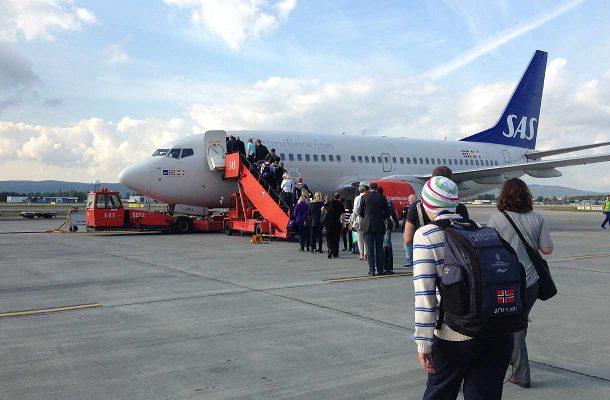 Yhdeksän Suomen-lentoa peruttu tänään SAS:n lakon vuoksi