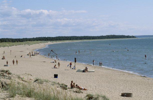 Yyterin ranta on Porin suosituin paikka kesällä